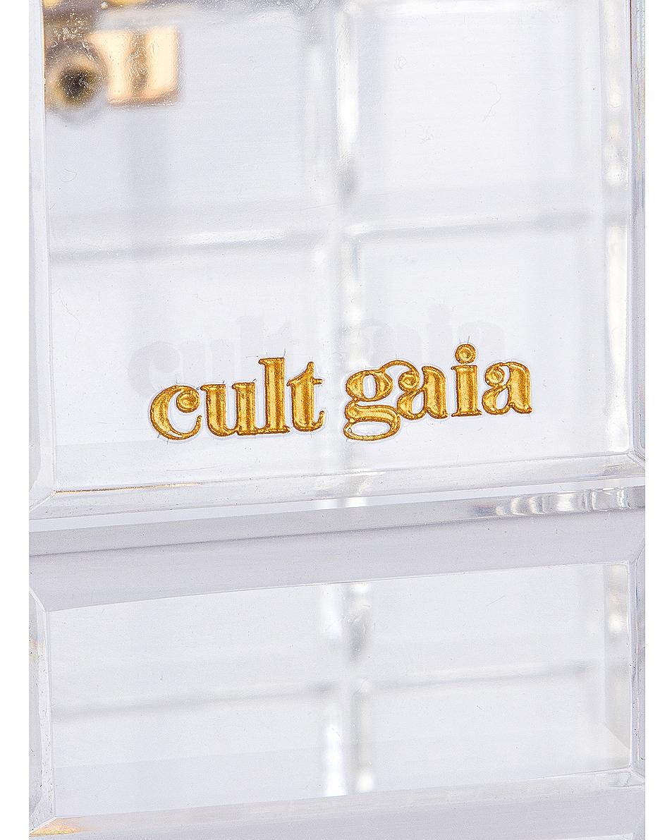 Image 6 of Cult Gaia Phaedra Top Handle Bag in Clear