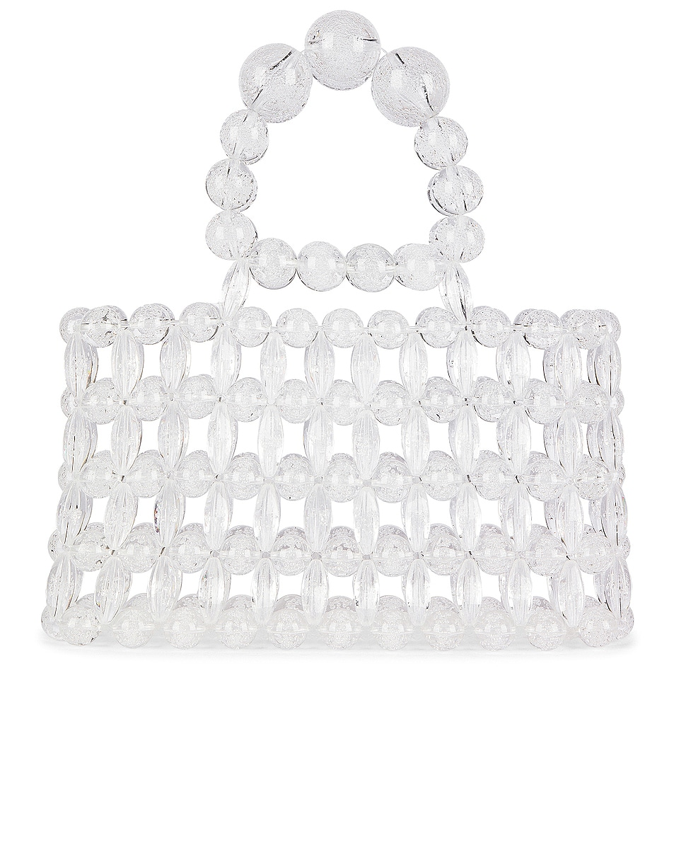 Image 1 of Cult Gaia Acrylic Cora Bag in Clear Bubble