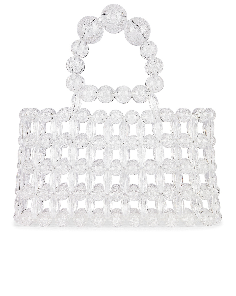 Image 3 of Cult Gaia Acrylic Cora Bag in Clear Bubble