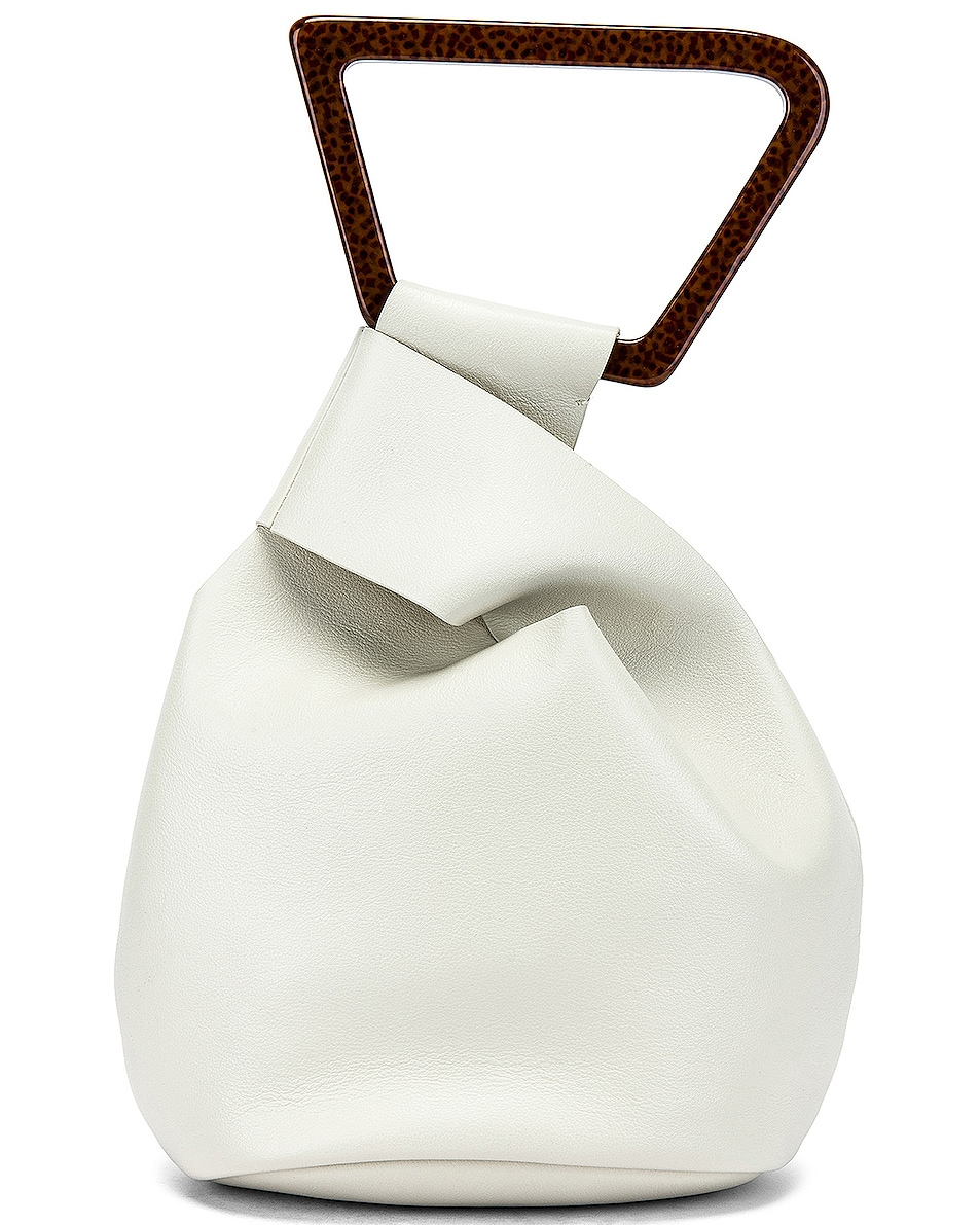 Image 3 of Cult Gaia Astraea Tote Bag in Off White