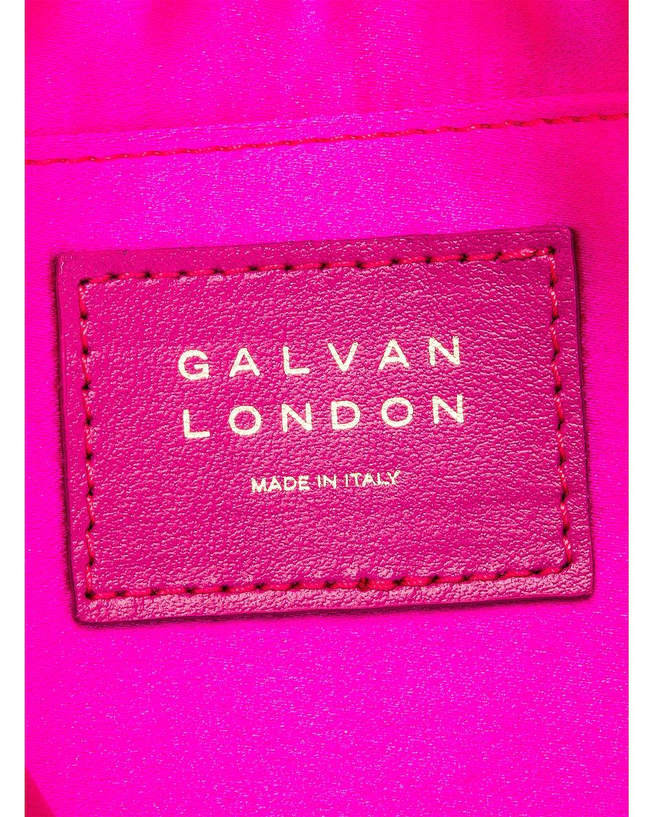 Image 6 of GALVAN Small Rectangle Tassel Bag in Fuchsia