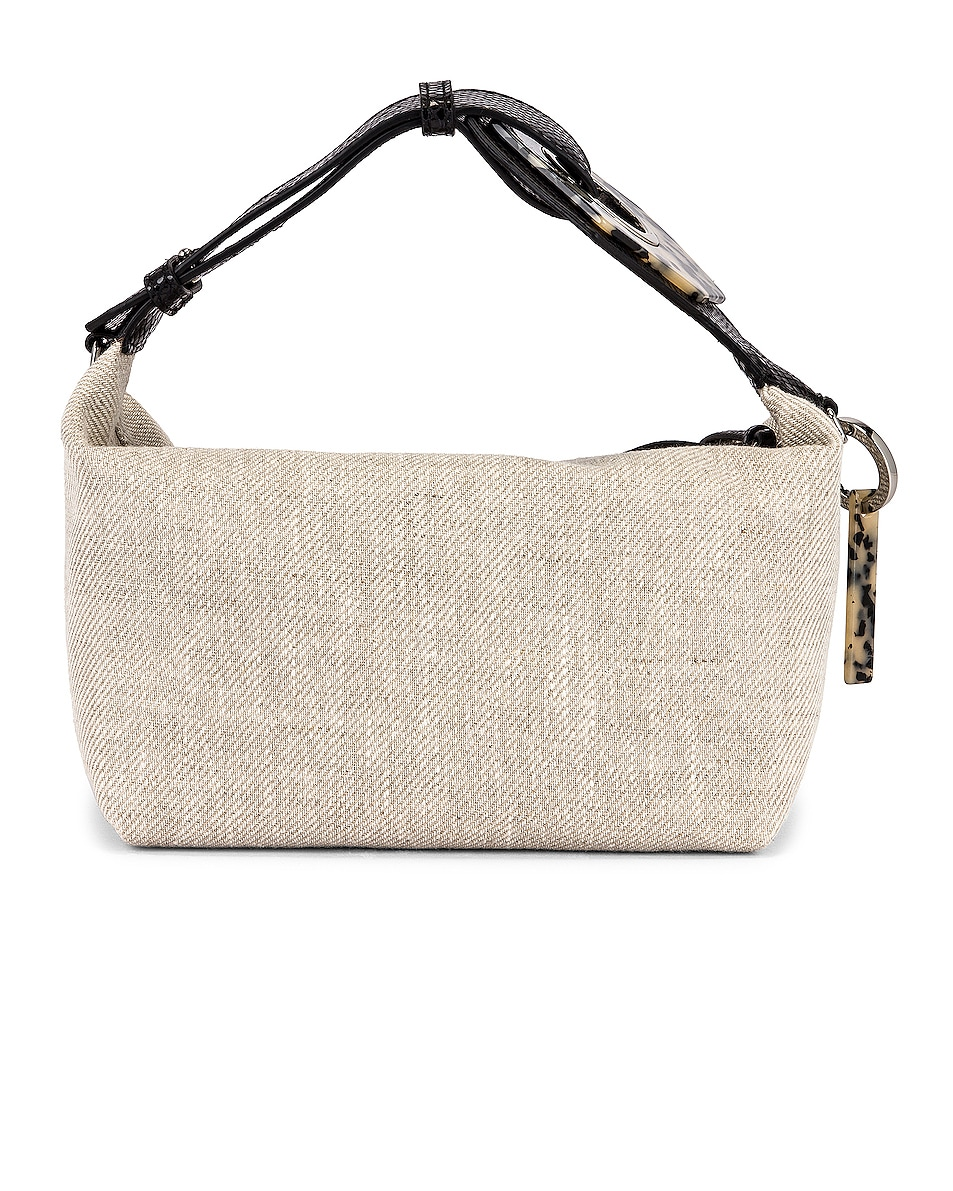 Image 3 of Ganni Leather Bag in Nature