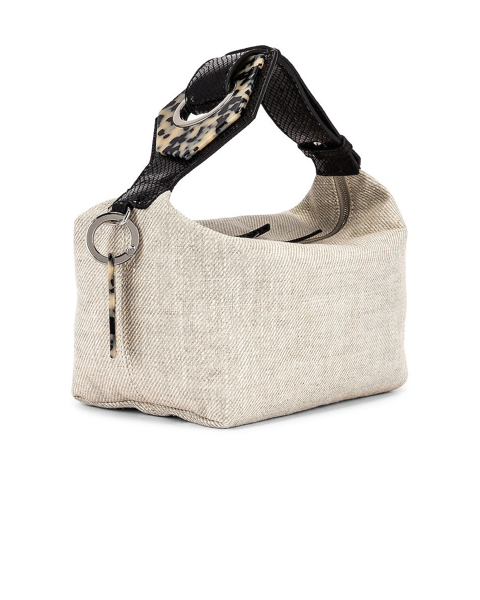 Image 4 of Ganni Leather Bag in Nature
