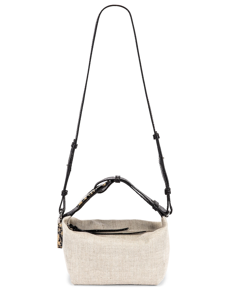 Image 6 of Ganni Leather Bag in Nature