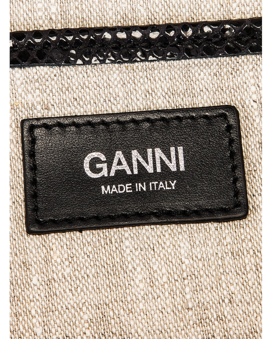 Image 7 of Ganni Leather Bag in Nature