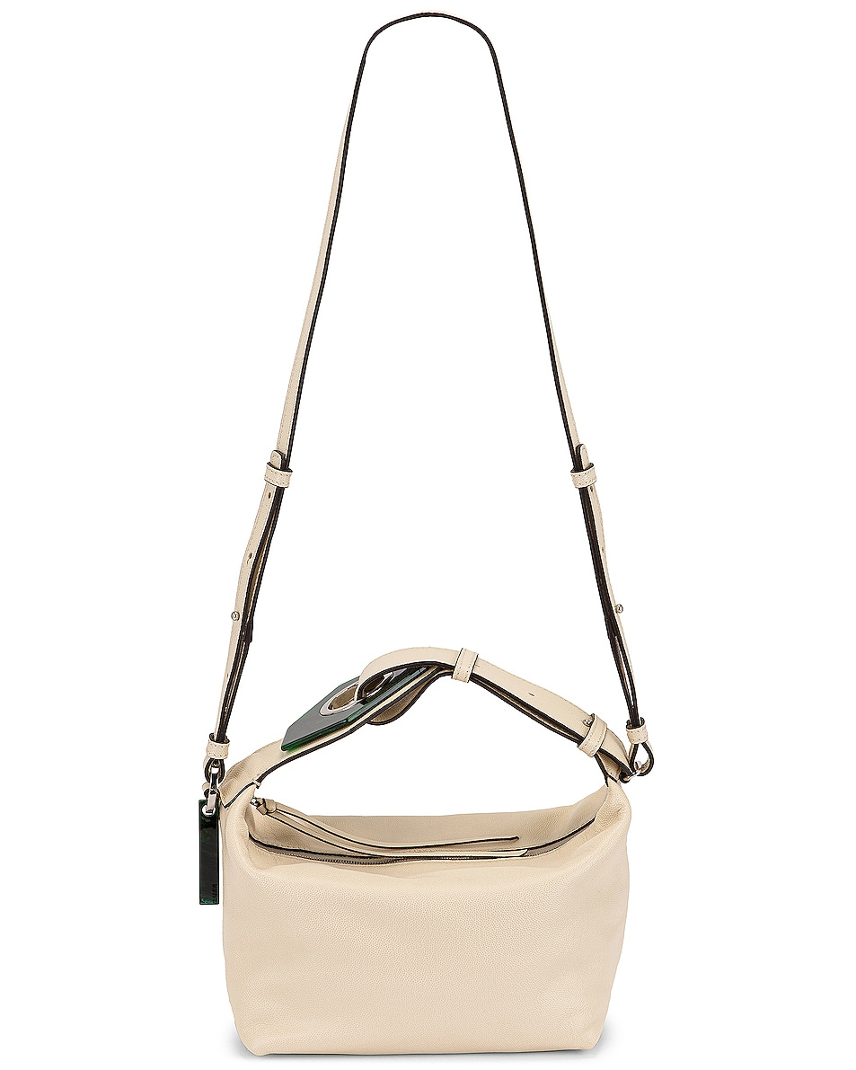 Image 6 of Ganni Leather Bag in Egret