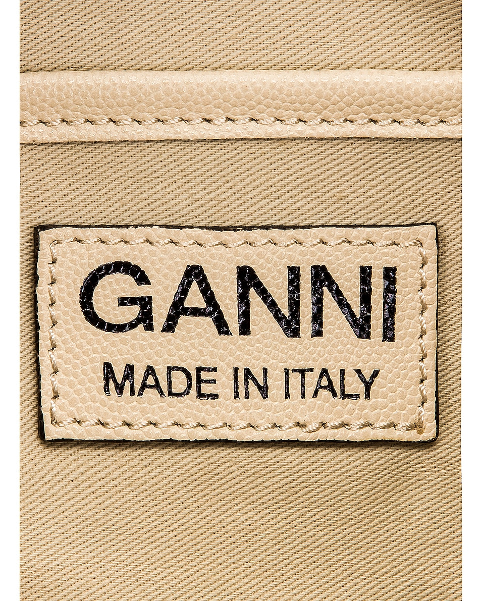 Image 7 of Ganni Leather Bag in Egret