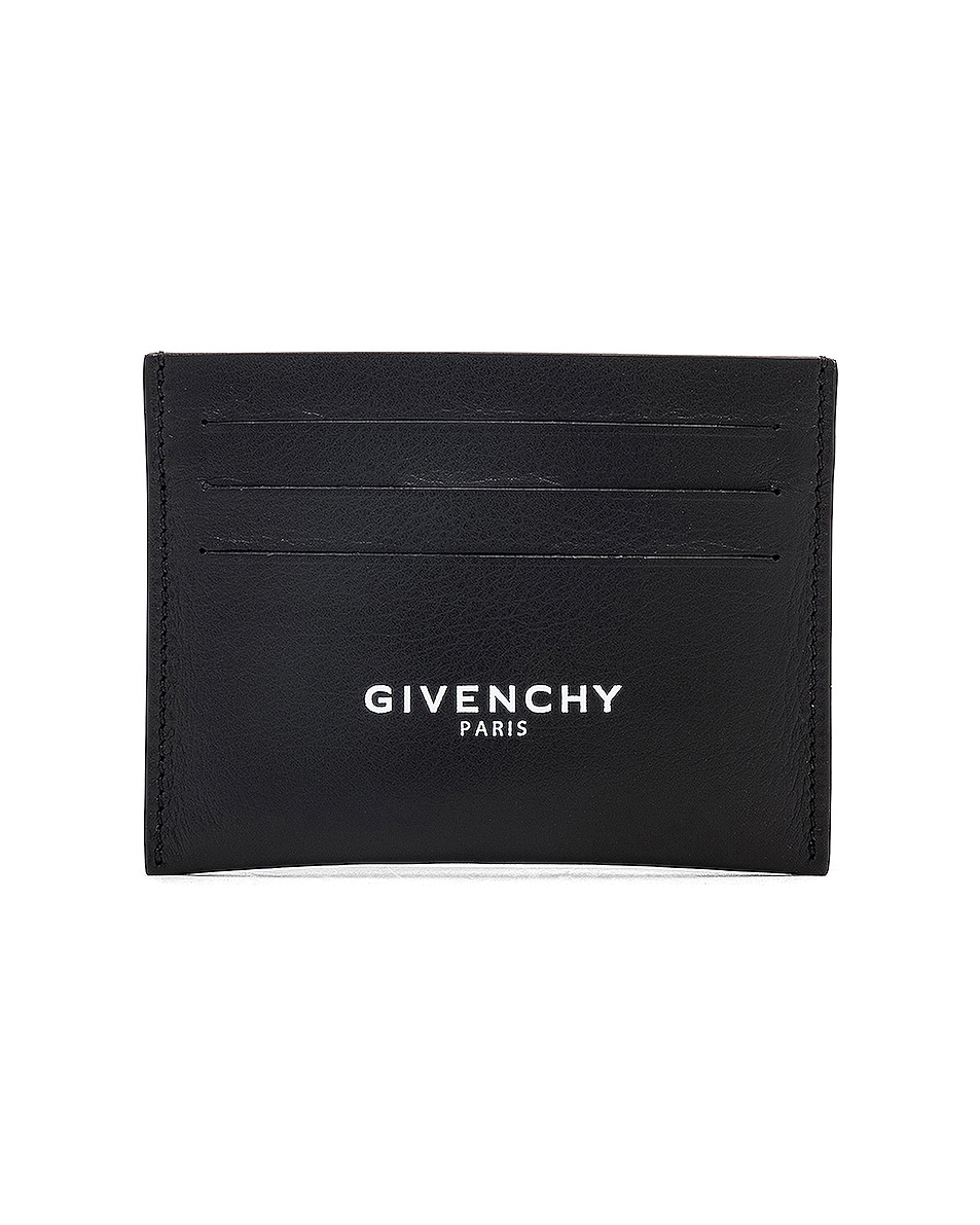 Image 1 of Givenchy Cardholder in Black