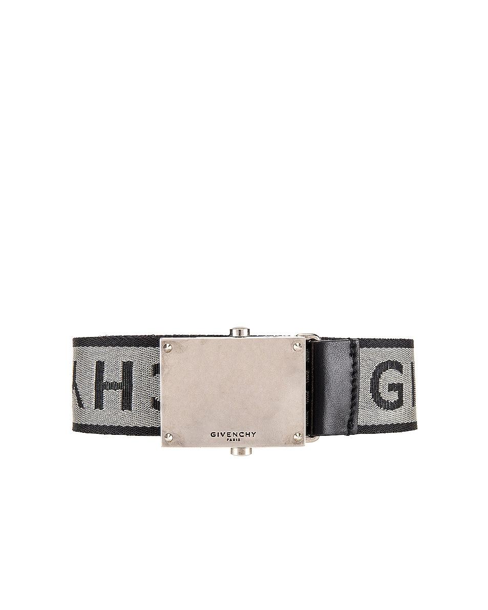 Image 1 of Givenchy Belt in Grey & Black