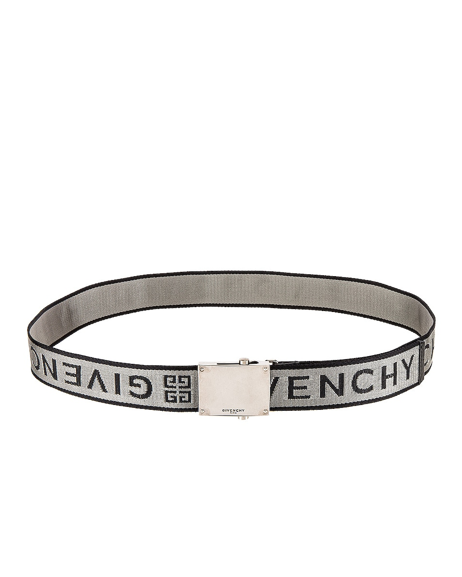 Image 2 of Givenchy Belt in Grey & Black