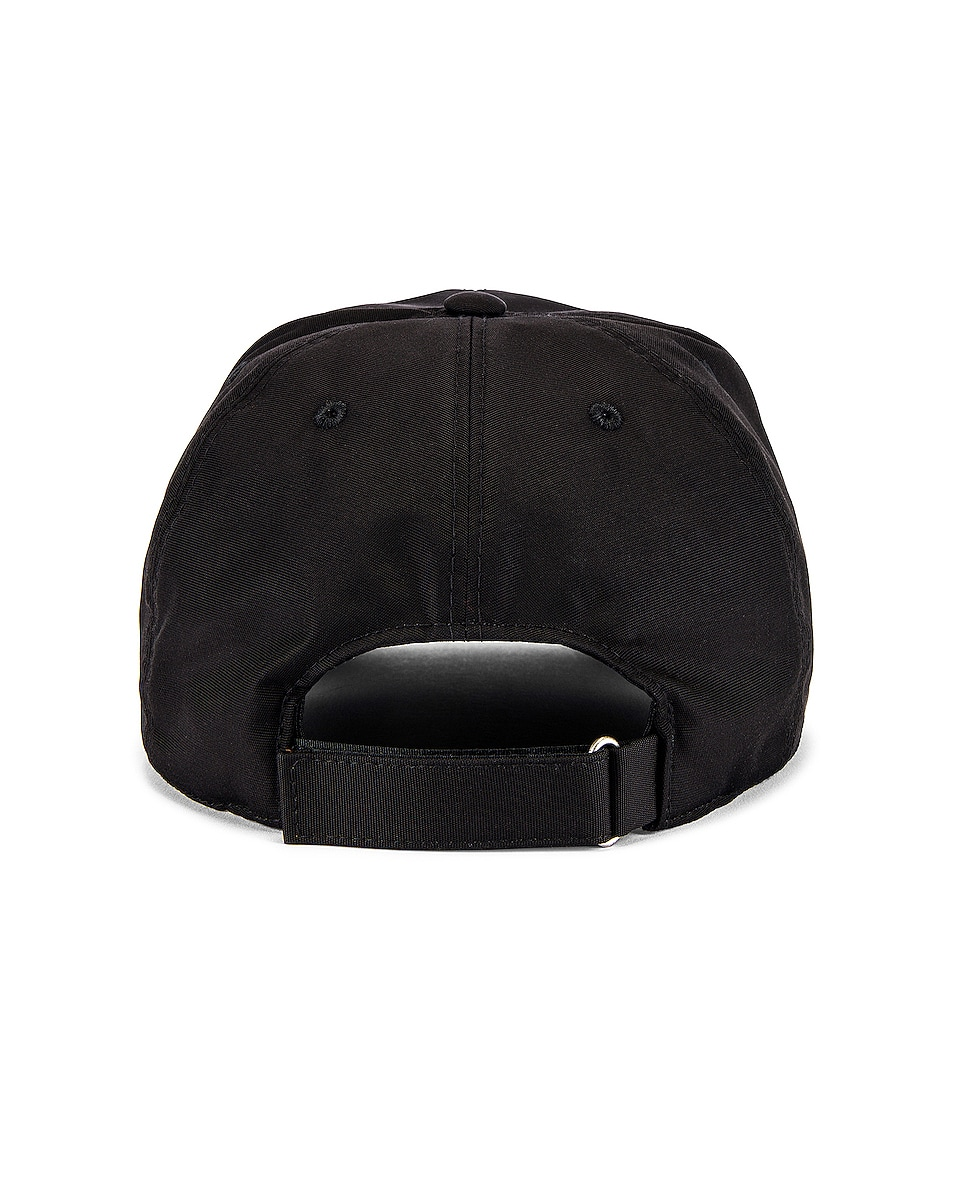 Image 4 of Givenchy Cap Curved Peak in Black & White