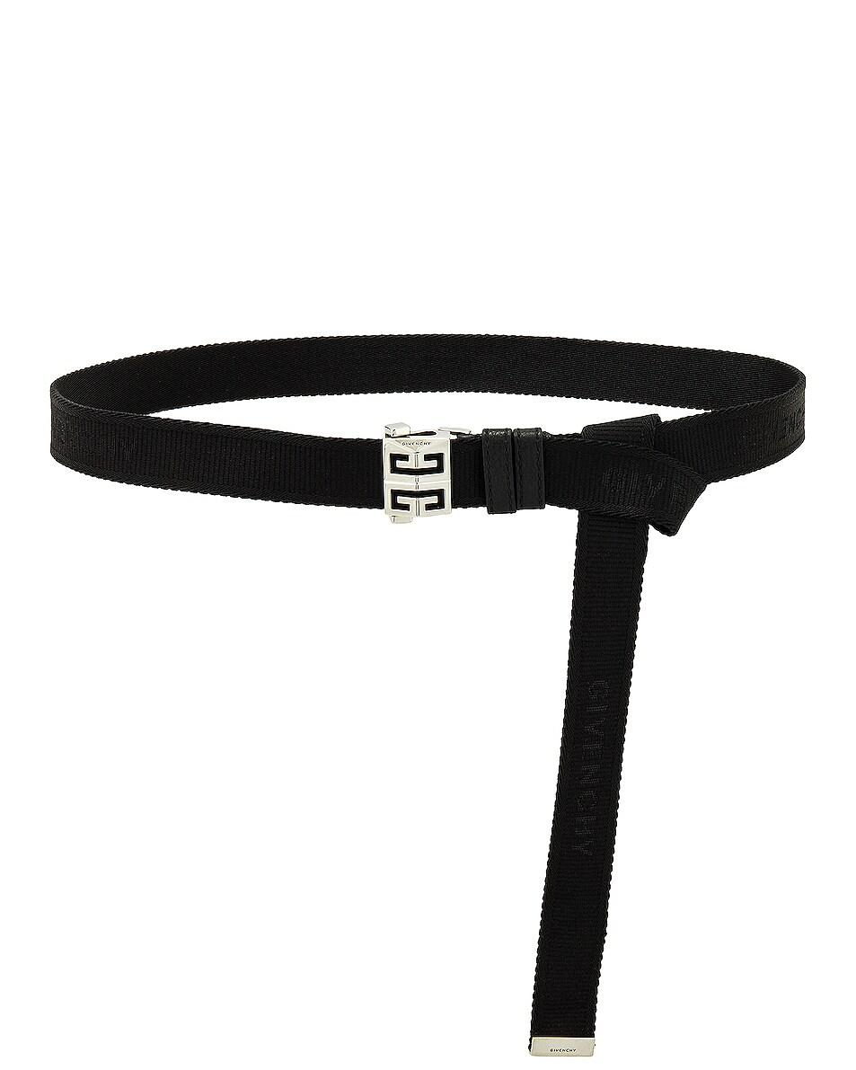 Image 1 of Givenchy 4G Skate Belt in Black