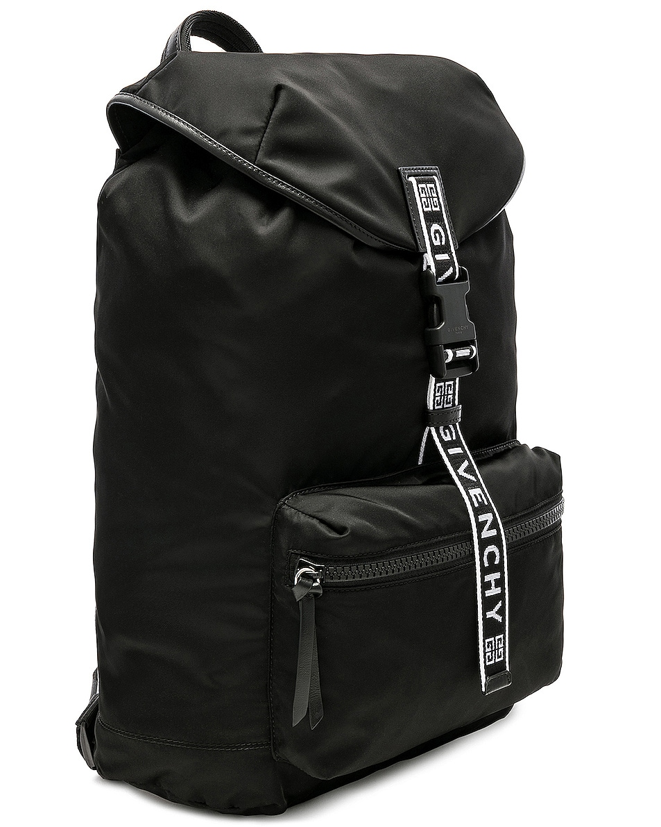 Image 3 of Givenchy Light 3 Backpack in Black