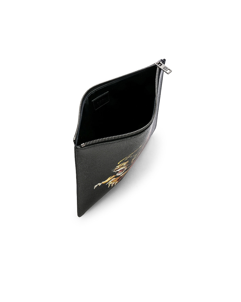 Image 4 of Givenchy Large Zipped Pouch in Multi