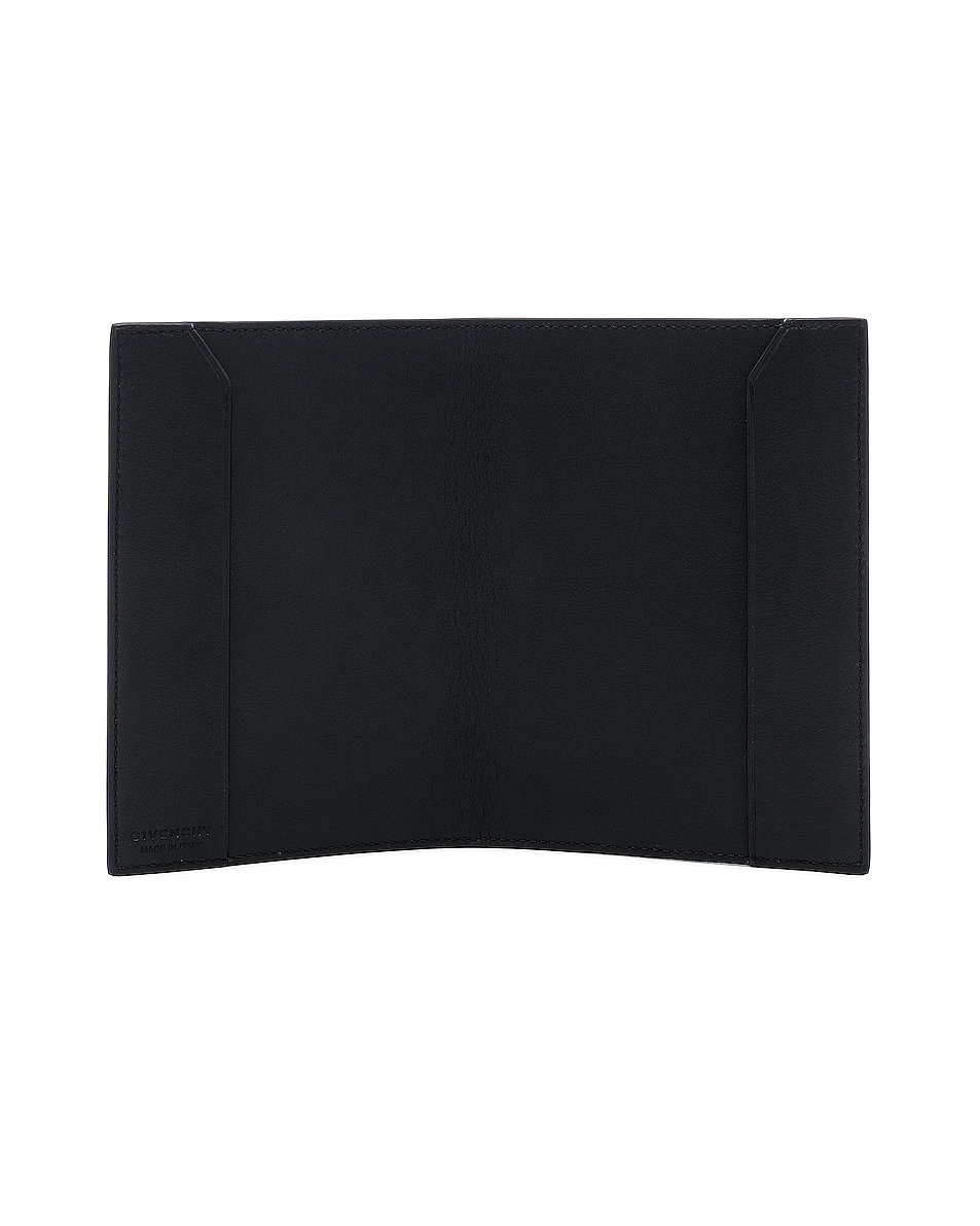 Image 4 of Givenchy Passport Holder in Black