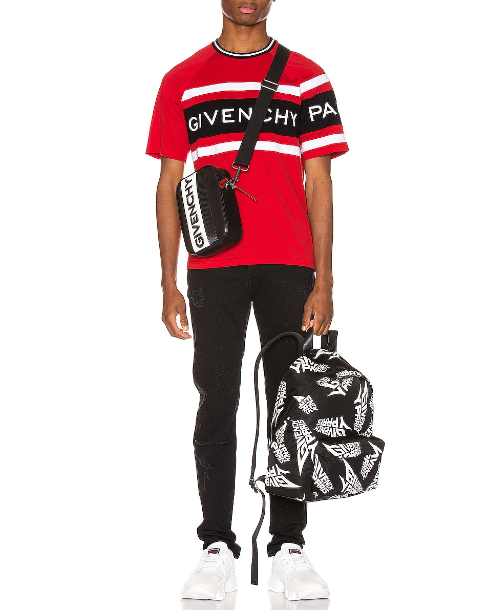 Image 2 of Givenchy Urban Backpack in Black & White