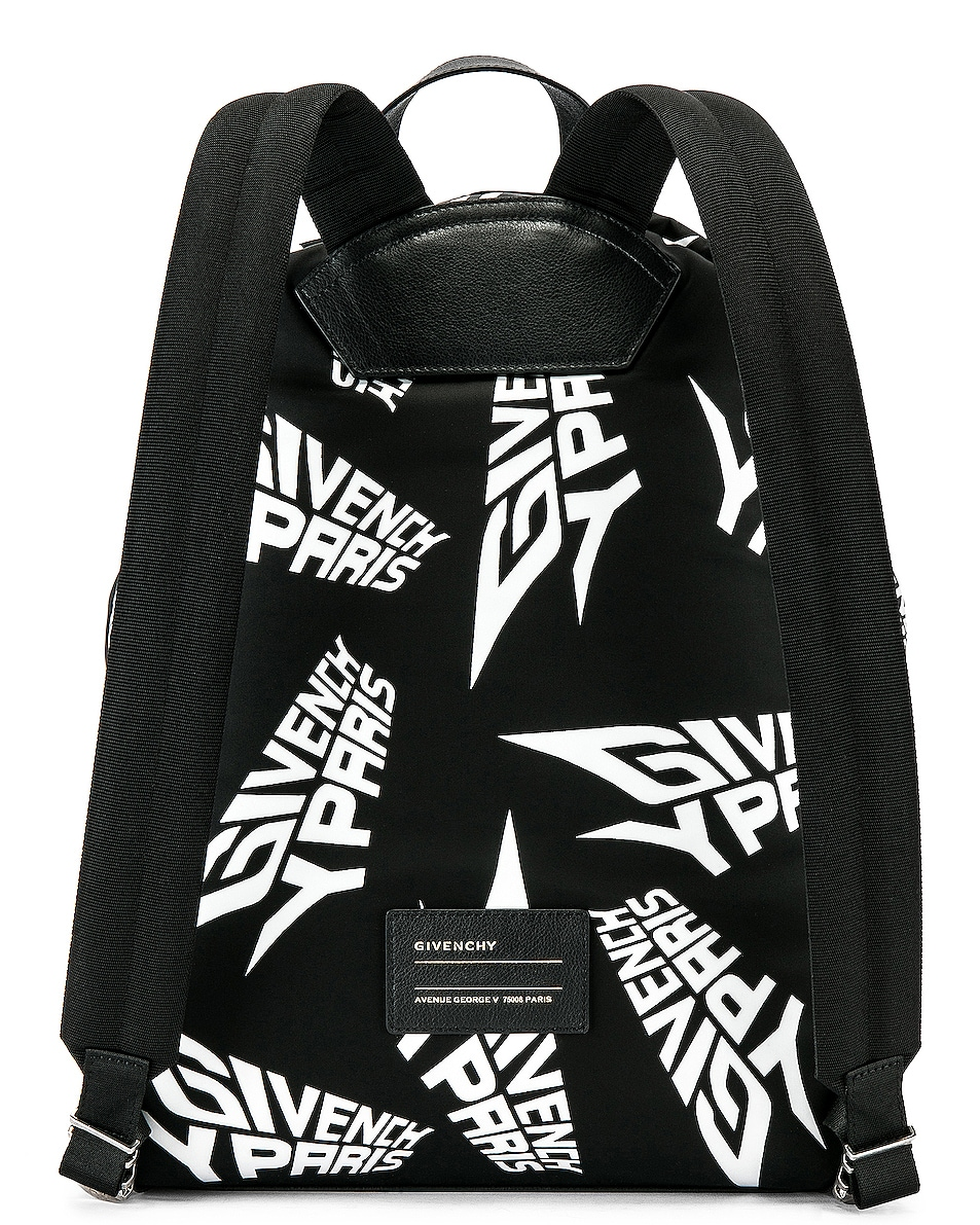 Image 3 of Givenchy Urban Backpack in Black & White