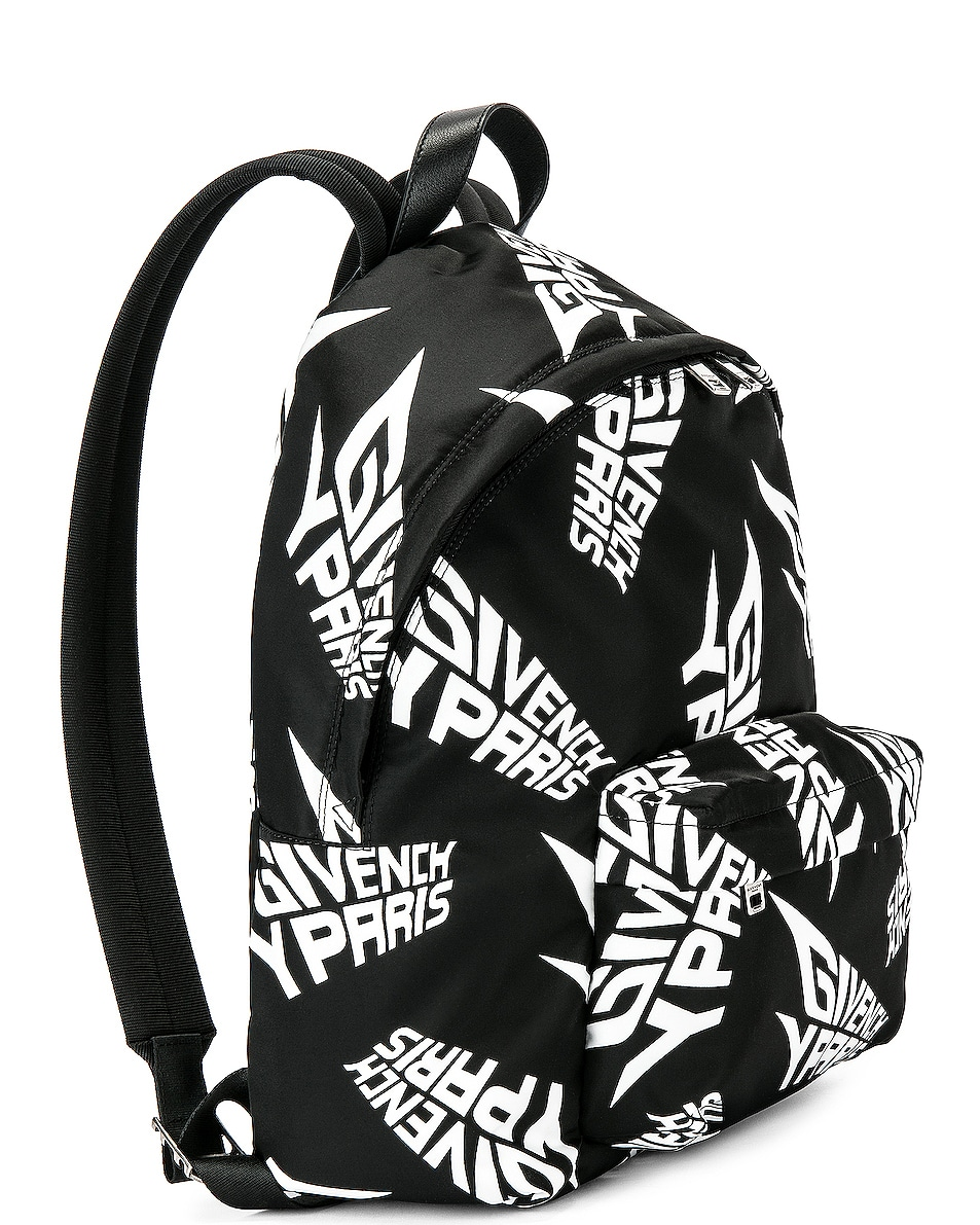 Image 4 of Givenchy Urban Backpack in Black & White