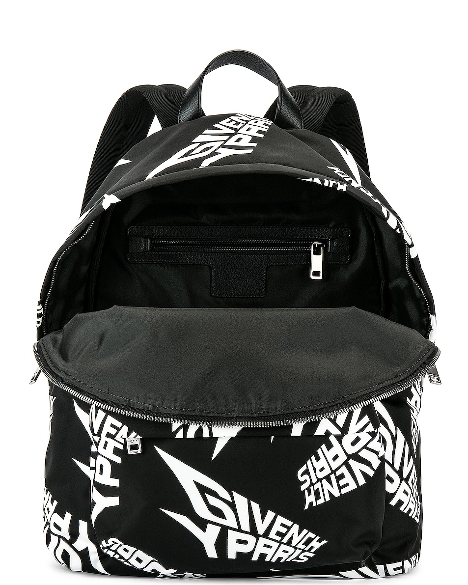 Image 5 of Givenchy Urban Backpack in Black & White