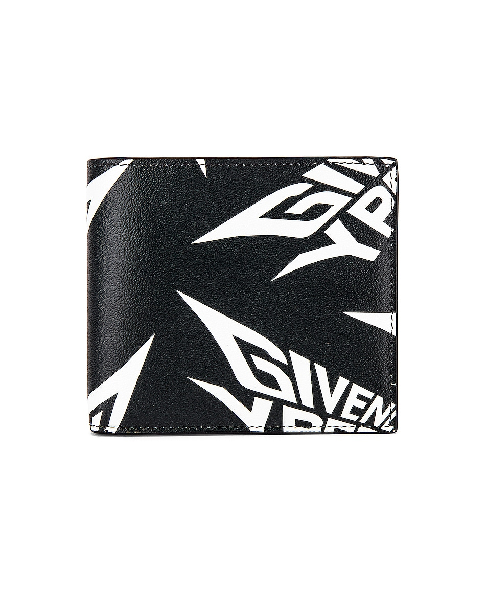 Image 1 of Givenchy 8CC Billfold in Black & White