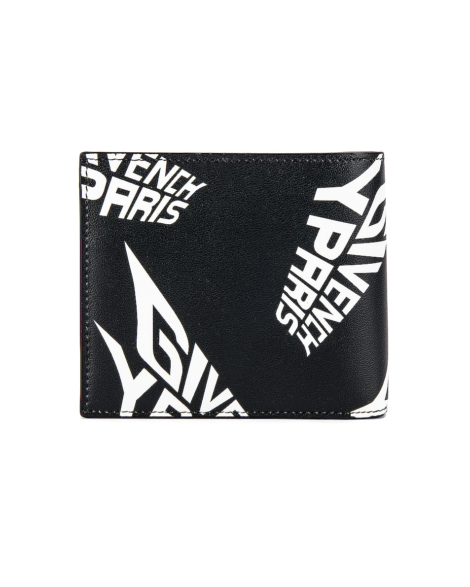 Image 2 of Givenchy 8CC Billfold in Black & White
