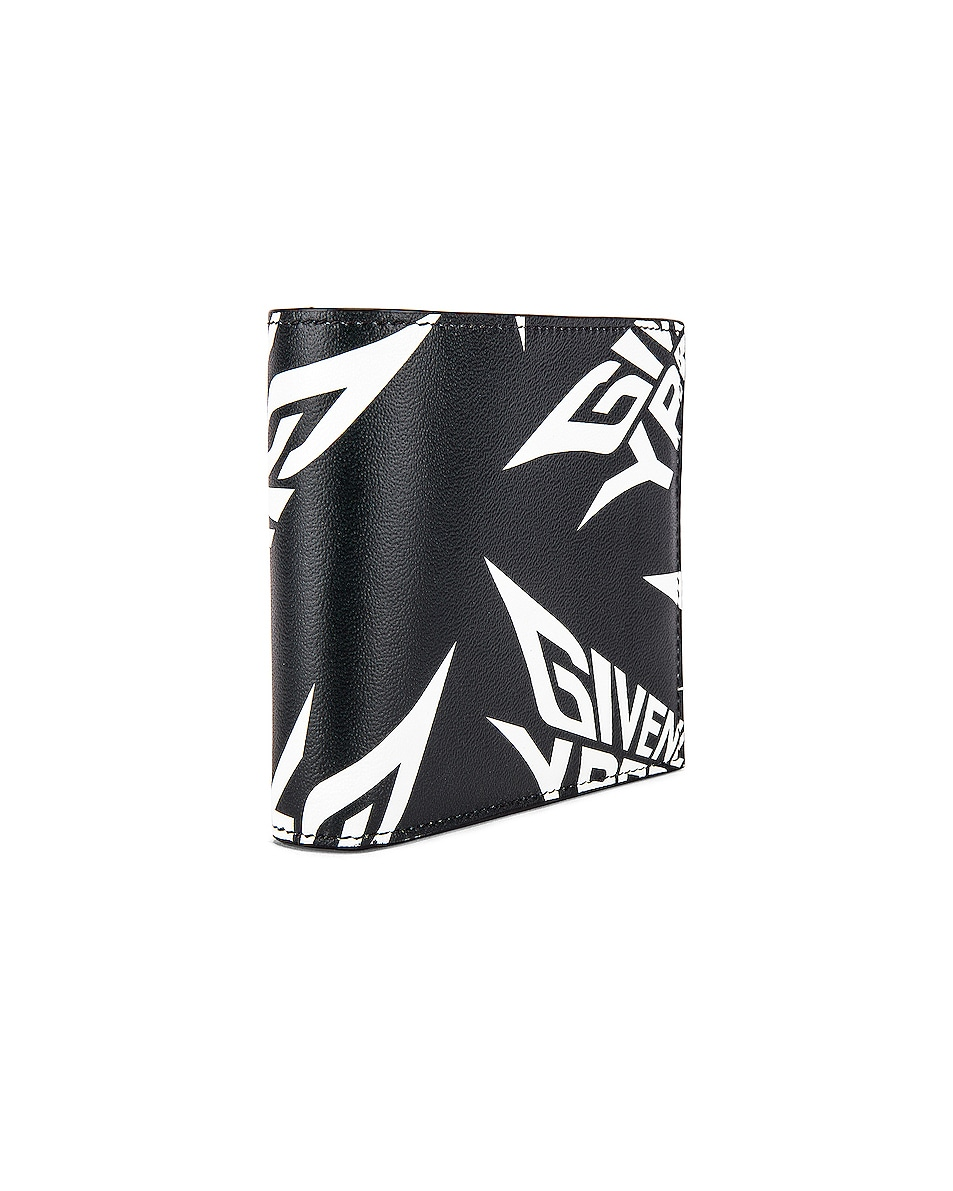 Image 3 of Givenchy 8CC Billfold in Black & White