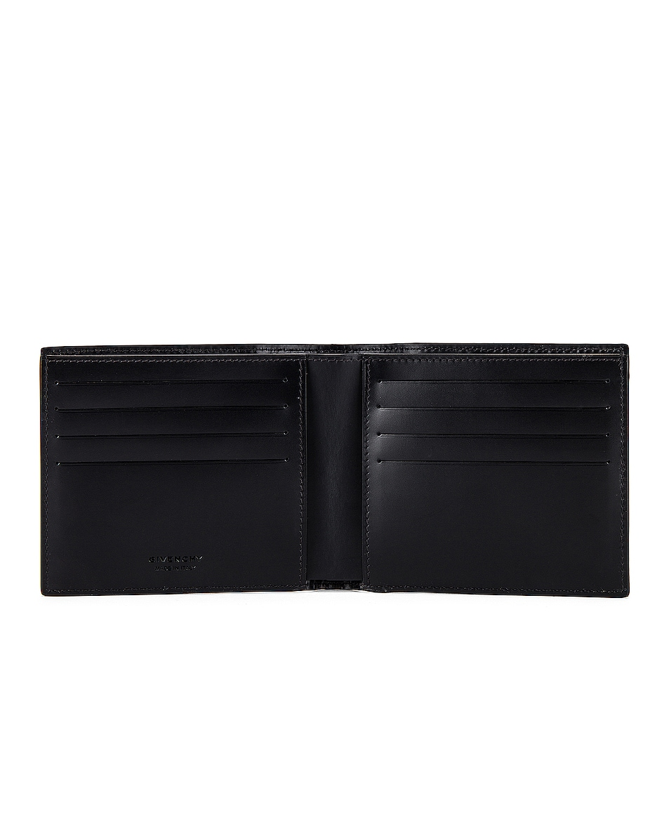 Image 4 of Givenchy 8CC Billfold in Black & White