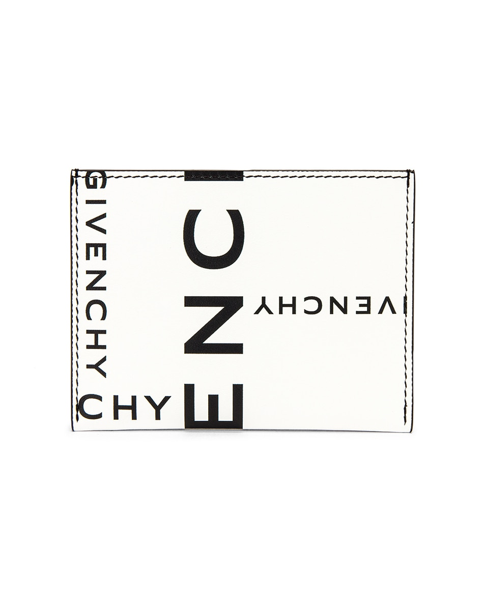 Image 1 of Givenchy Wallet in Black & White