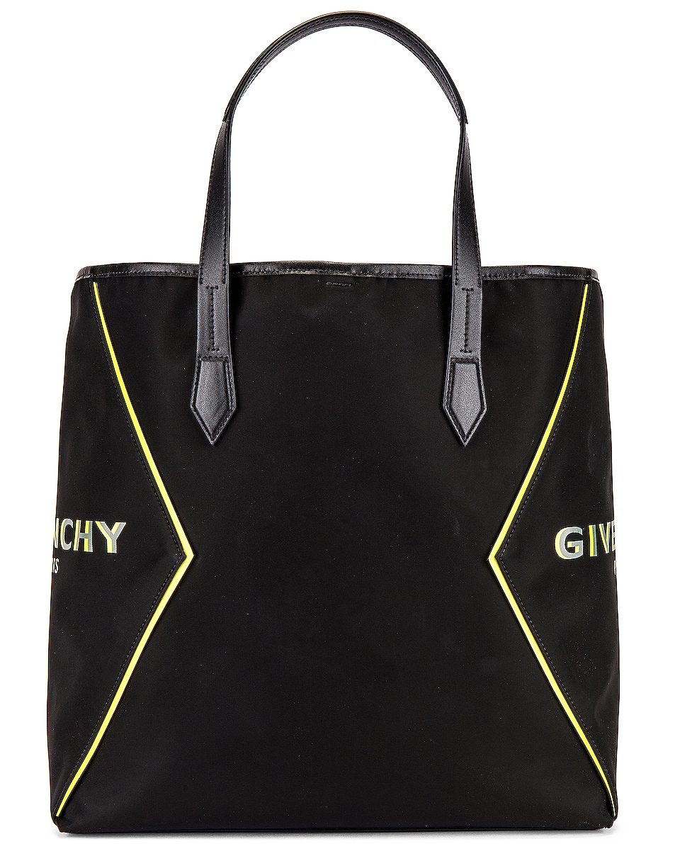 Image 2 of Givenchy Tote Bag in Black & Yellow