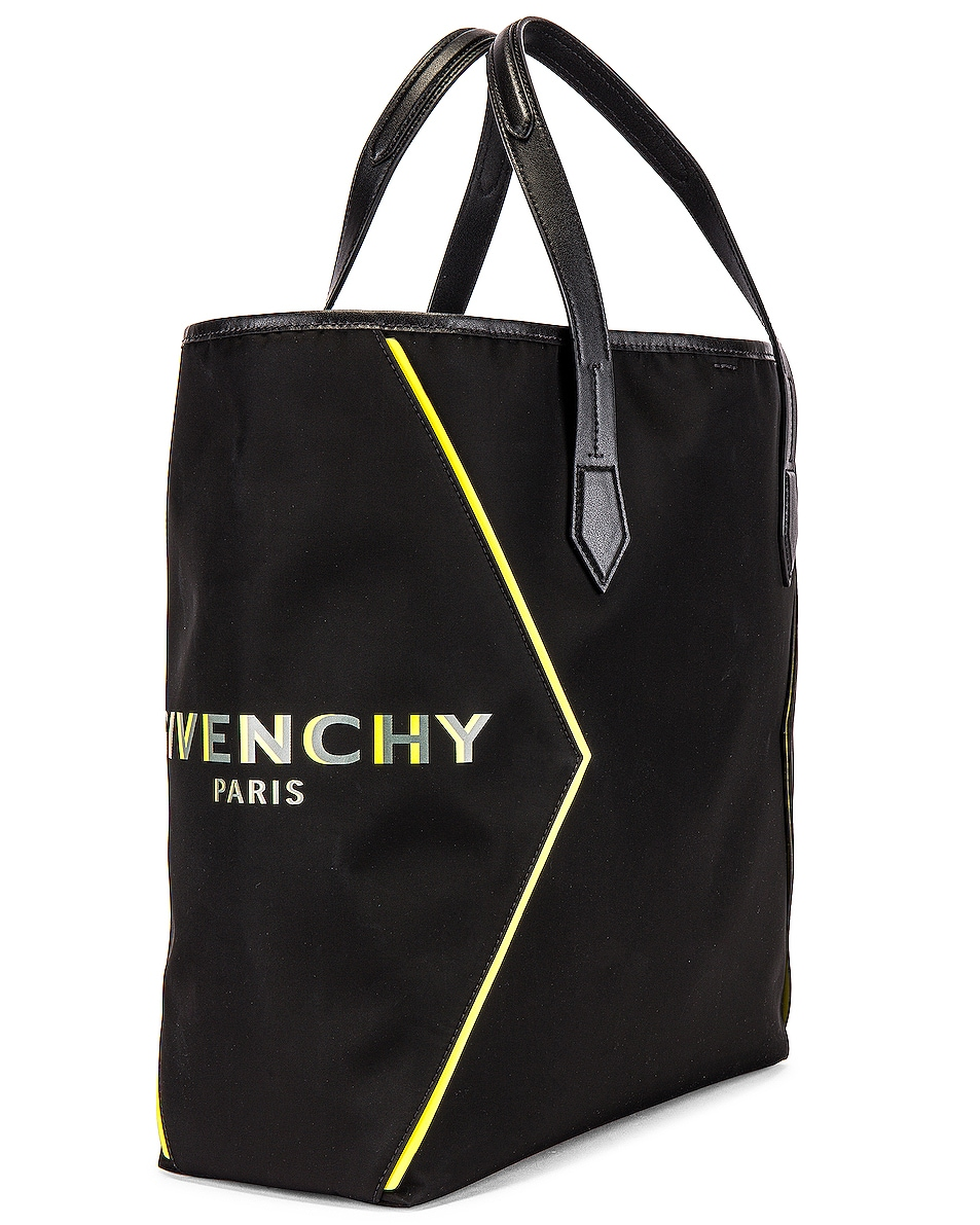 Image 3 of Givenchy Tote Bag in Black & Yellow