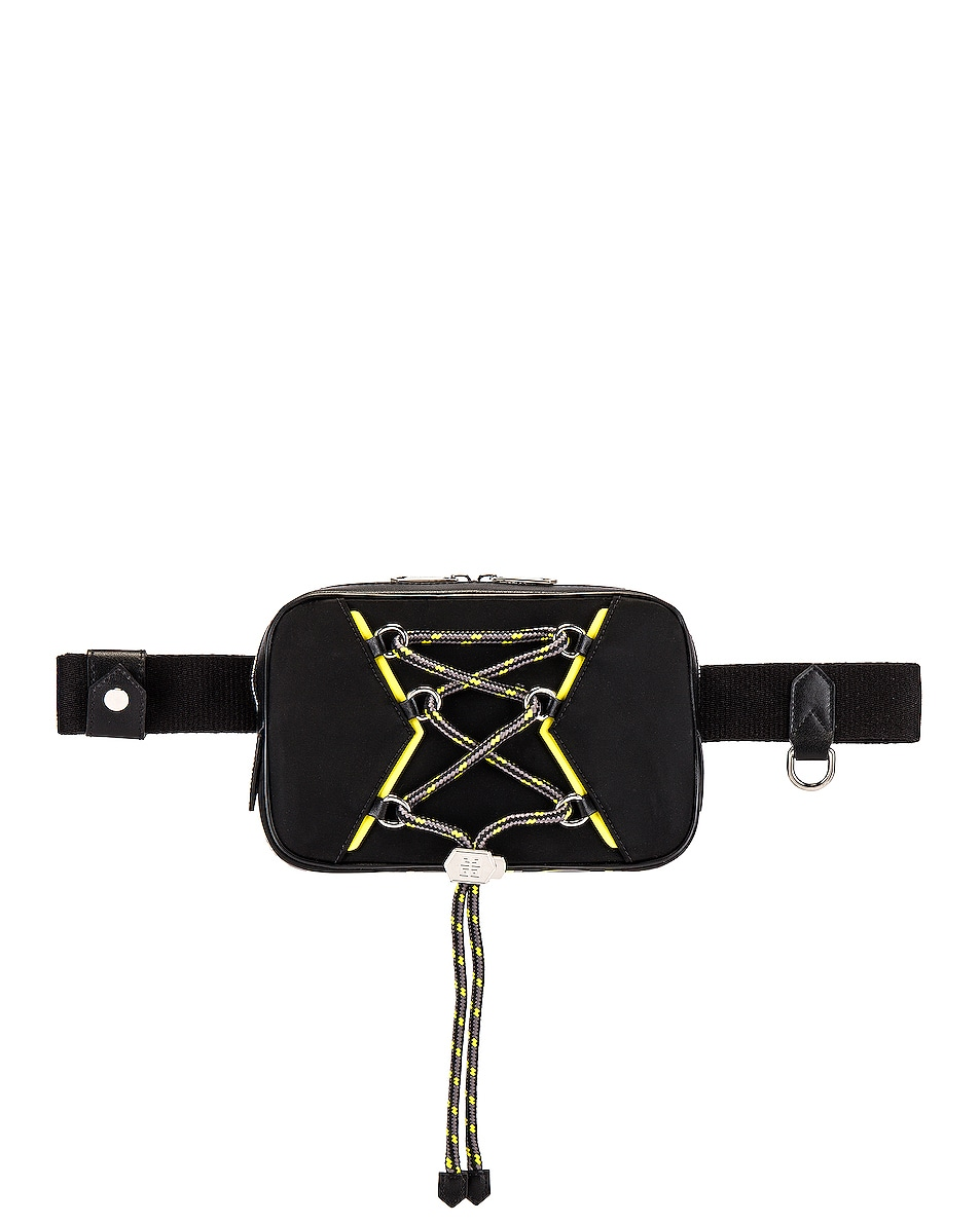 Image 1 of Givenchy Bum Bag in Black & Yellow