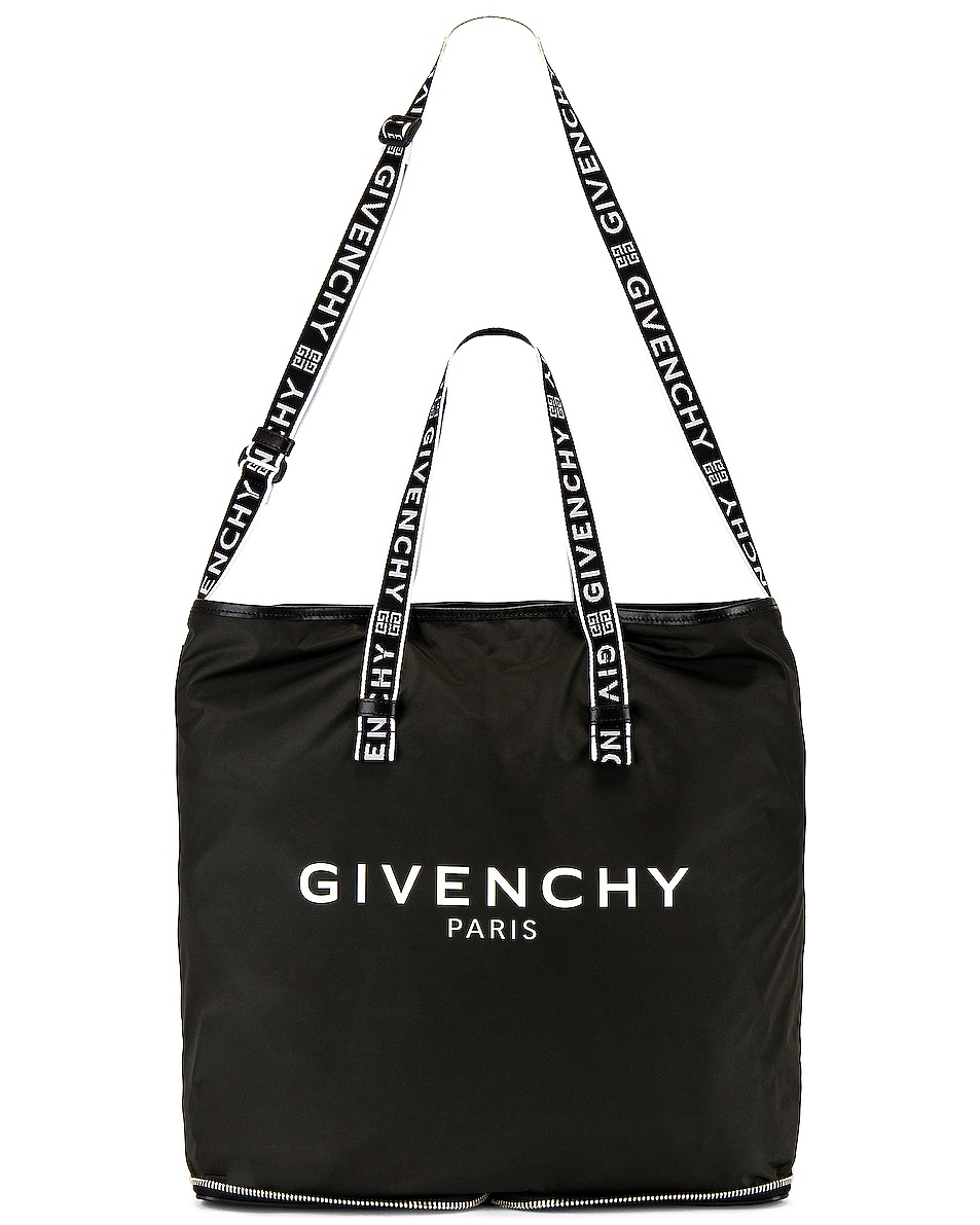 Image 1 of Givenchy Light 3 Foldable Tote in Black & White
