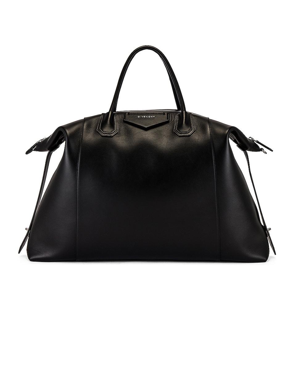 Image 1 of Givenchy Antigona Maxi Bag in Black