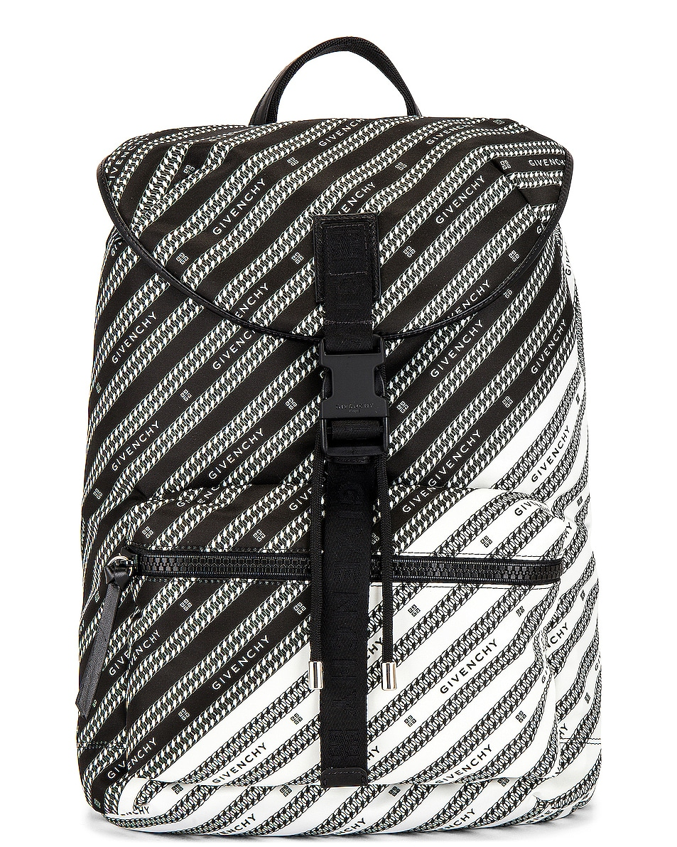 Image 1 of Givenchy Light 3 Backpack in Black & White