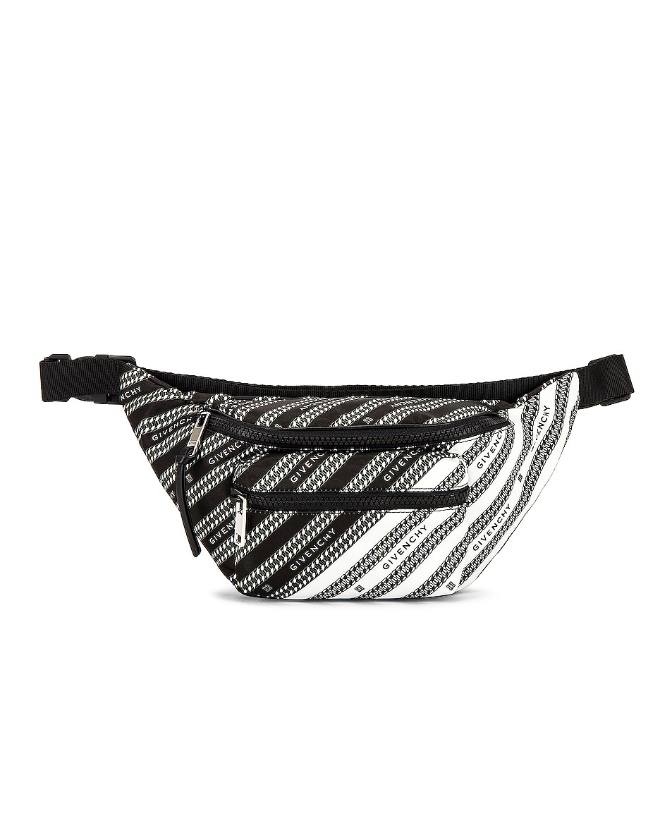 Image 1 of Givenchy Light 3 Bum Bag in Black in Black & White