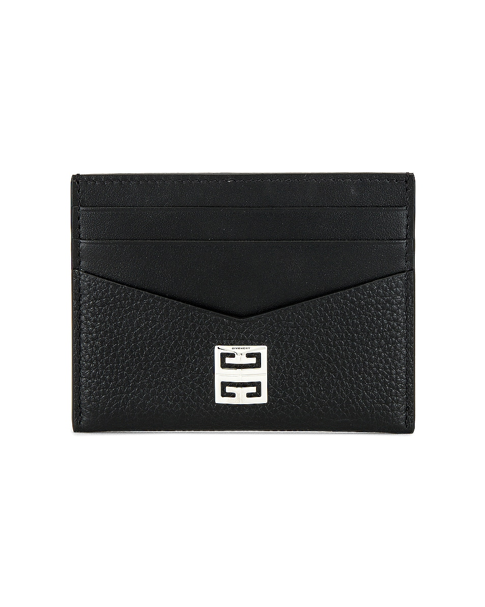 Image 1 of Givenchy Cardholder in Black
