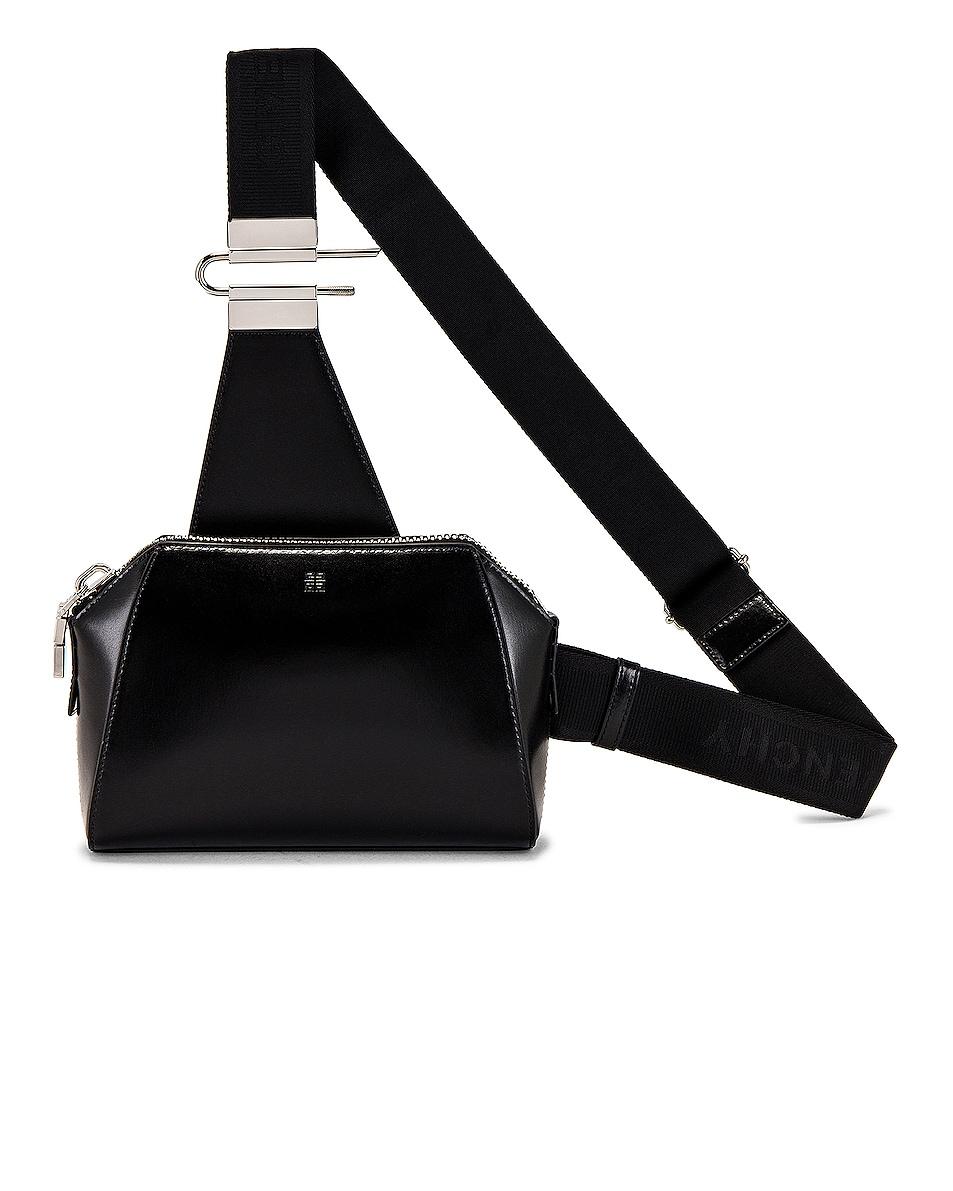 Image 1 of Givenchy Antigona Crossbody Bag in Black