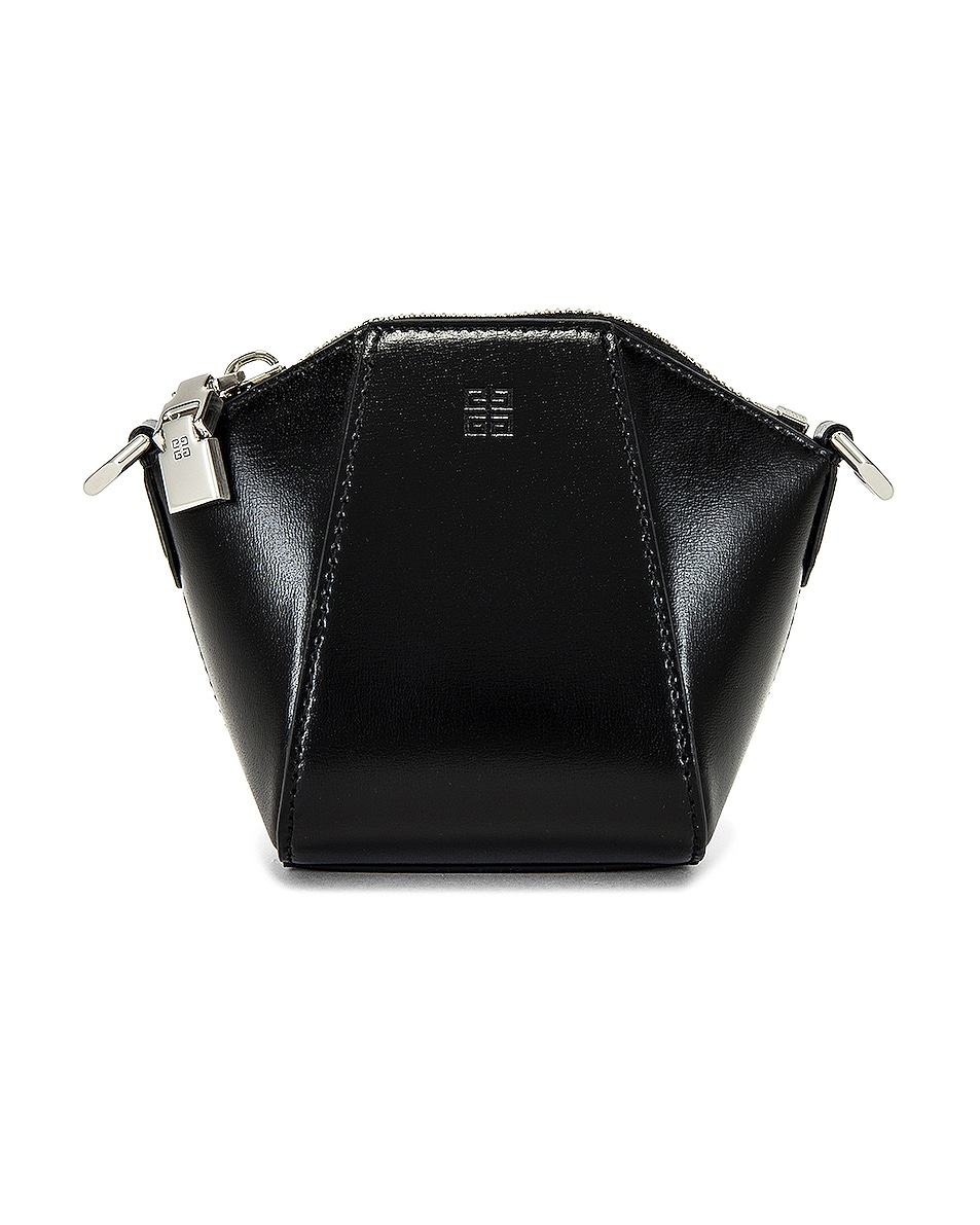 Image 1 of Givenchy Antigona Mini Purse Strap in Black
