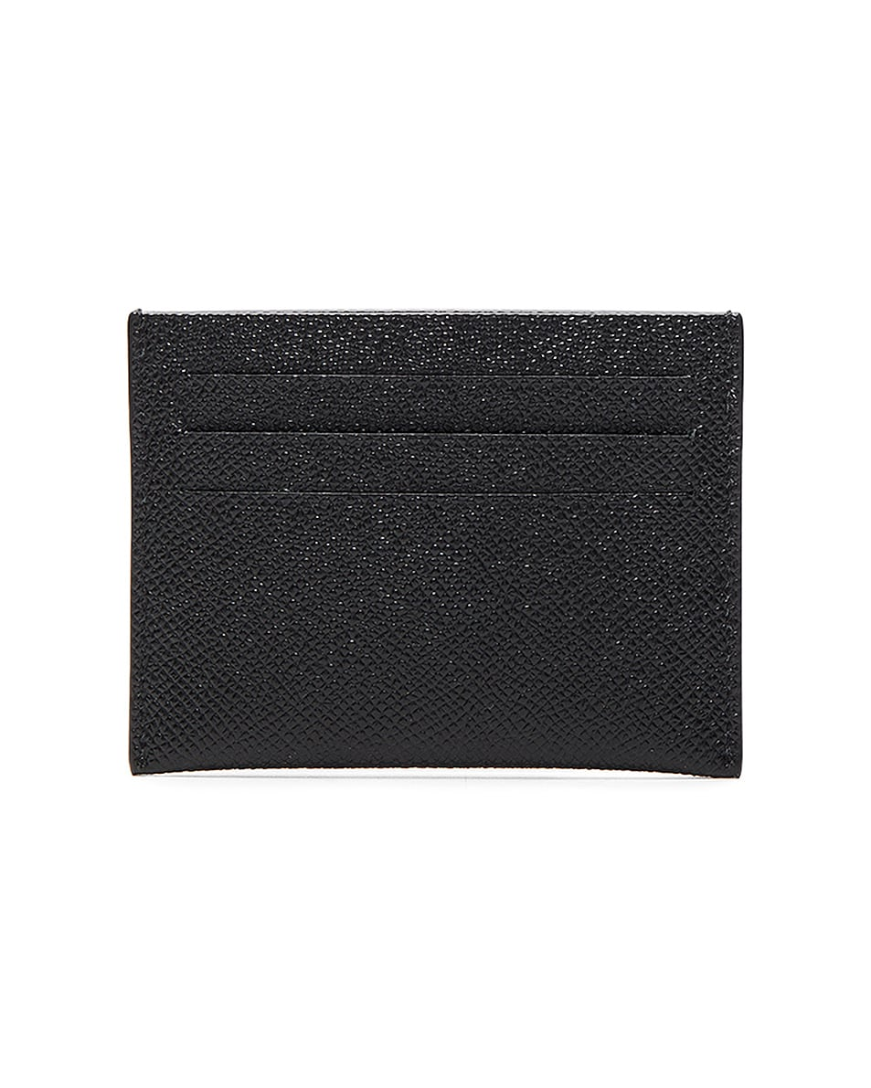 Image 2 of Givenchy Leather Double Cardholder in Black