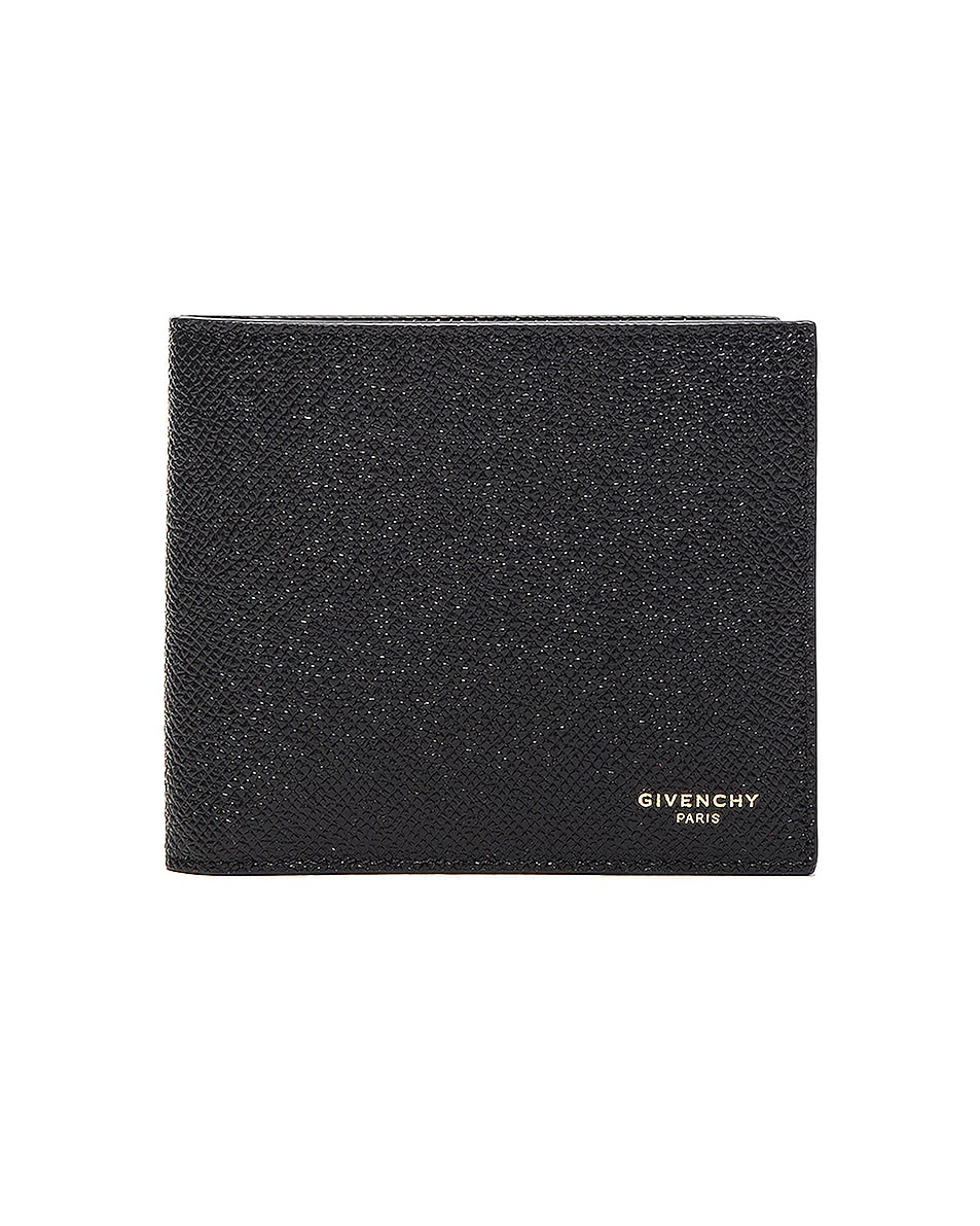 Image 1 of Givenchy Leather Billfold Wallet in Black