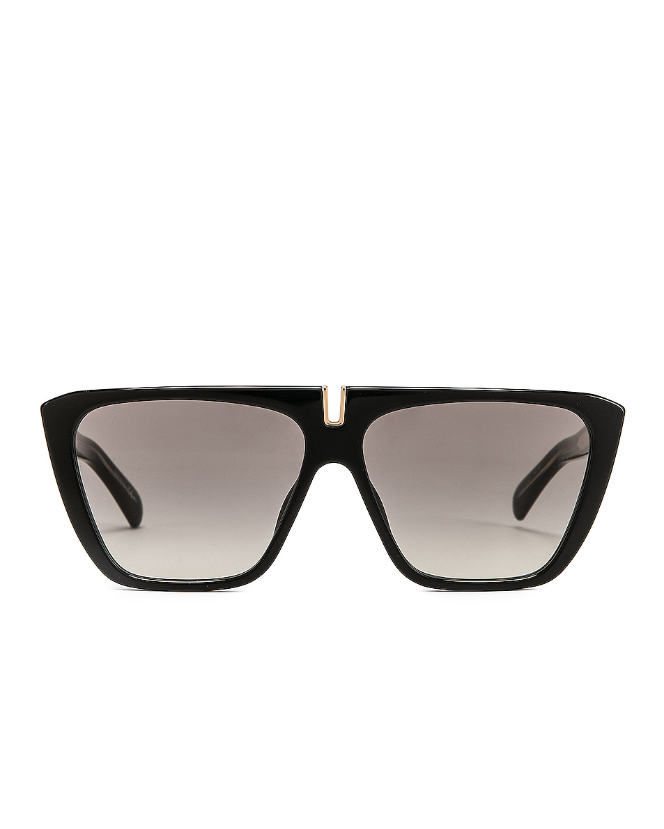 Image 1 of Givenchy Rectangle Sunglasses in Black