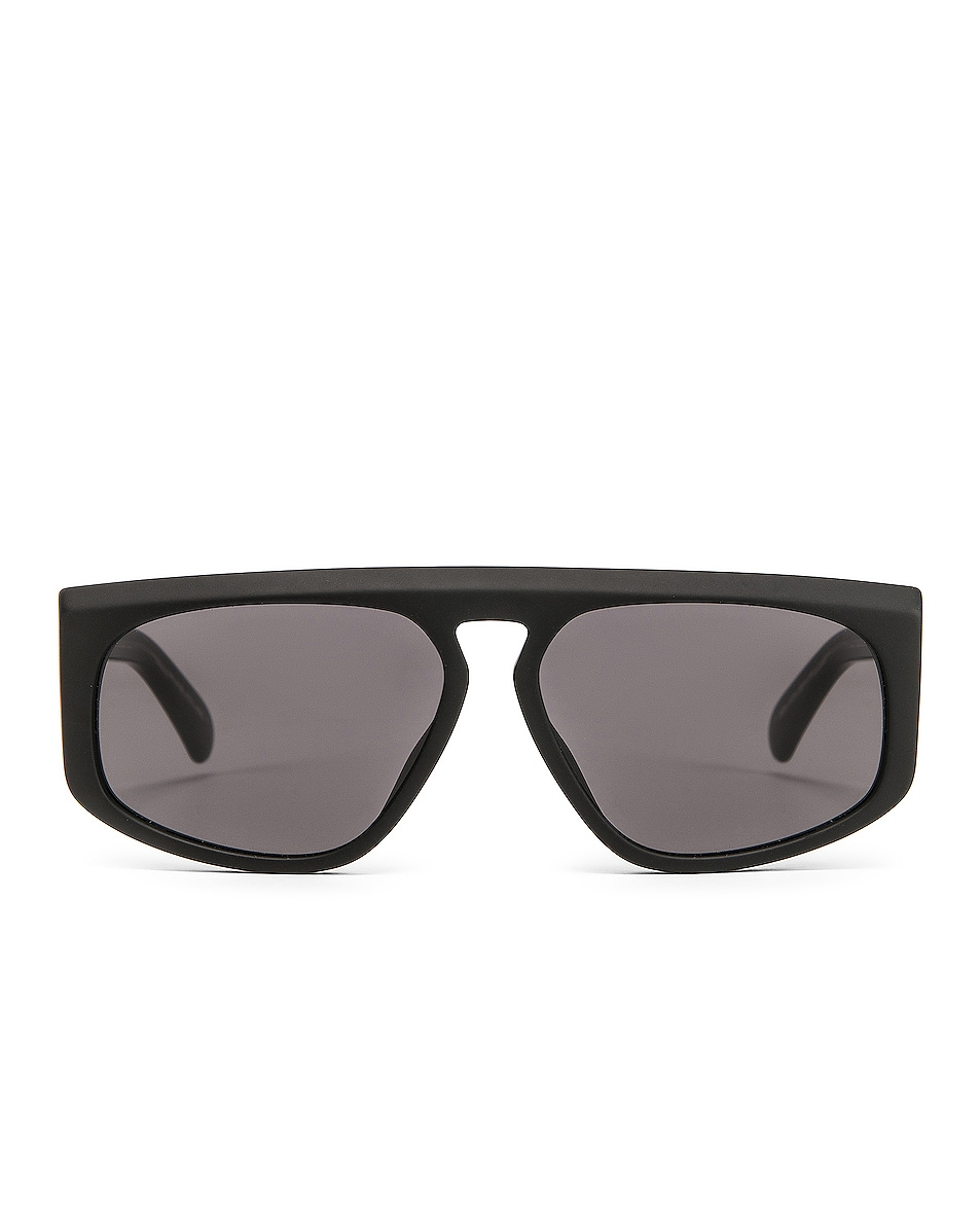 Image 1 of Givenchy Flat Top Sunglasses in Black