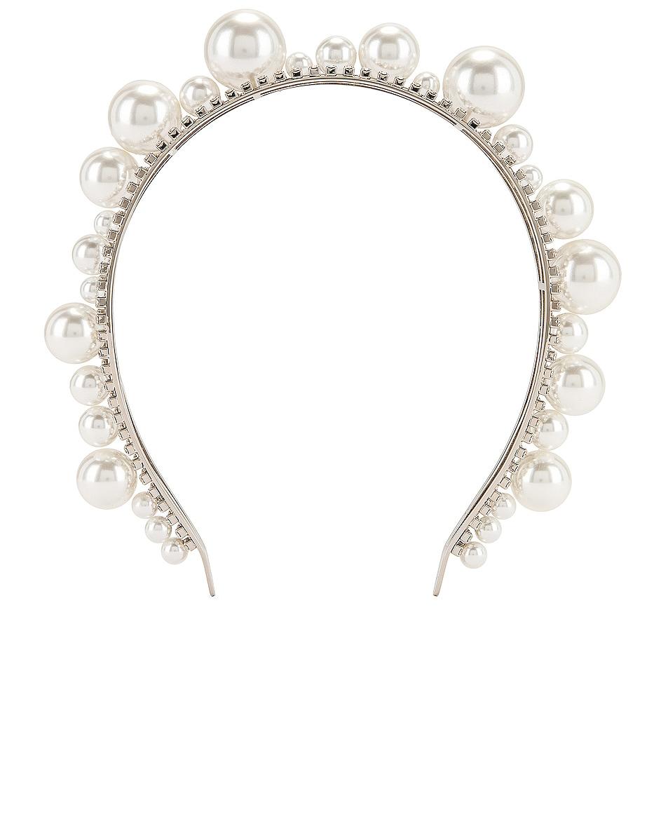 Image 1 of Givenchy Ariana Headband in Silver