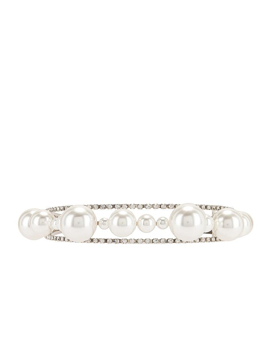 Image 3 of Givenchy Ariana Headband in Silver