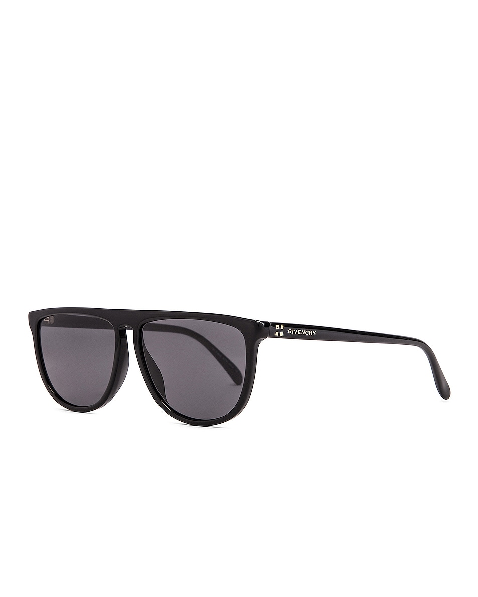 Image 2 of Givenchy Acetate Sunglasses in Black