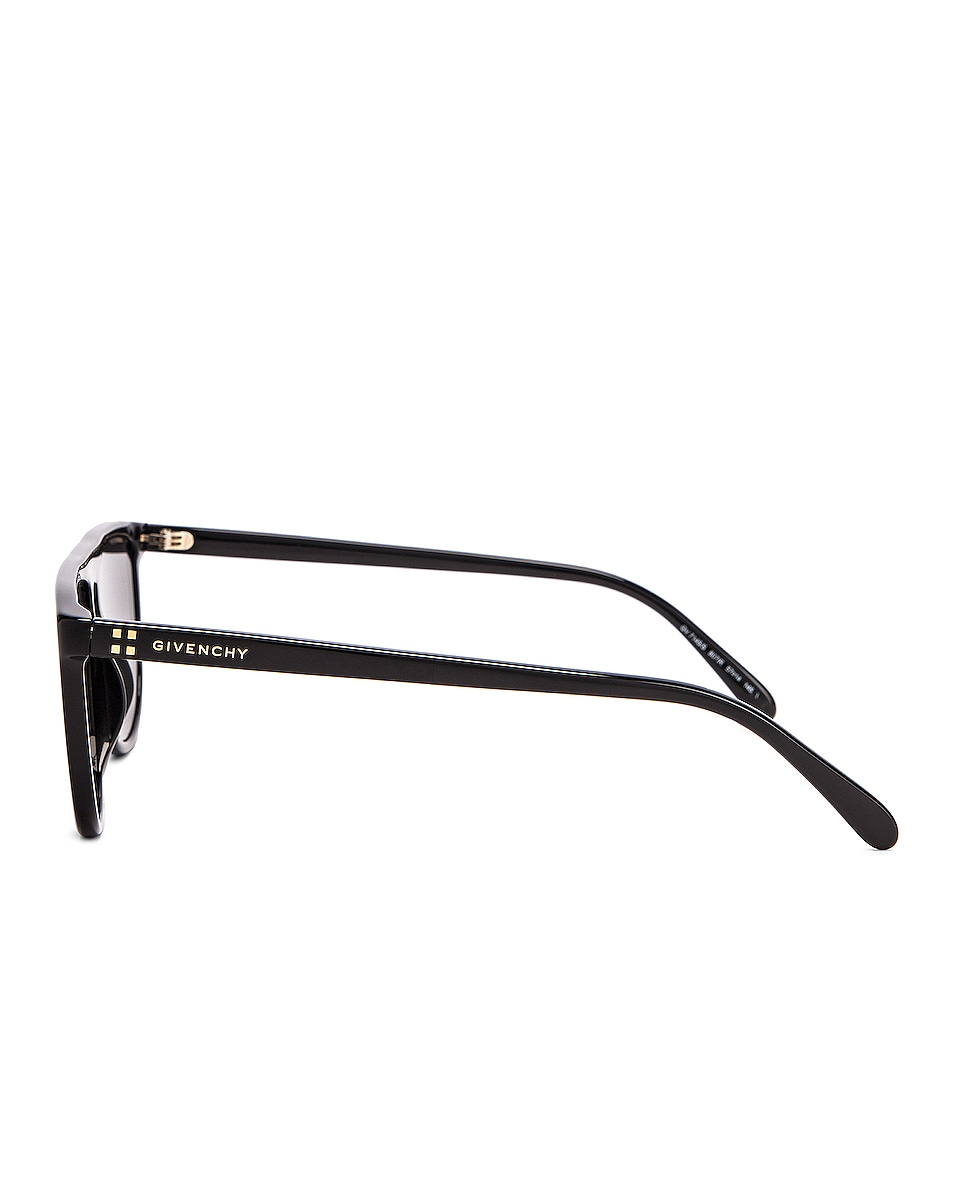 Image 3 of Givenchy Acetate Sunglasses in Black