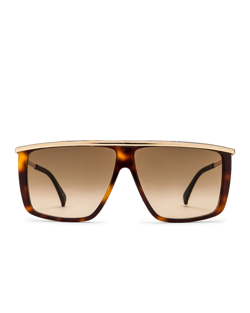 Image 1 of Givenchy GV Light Sunglasses in Havana Gold & Brown Gradient