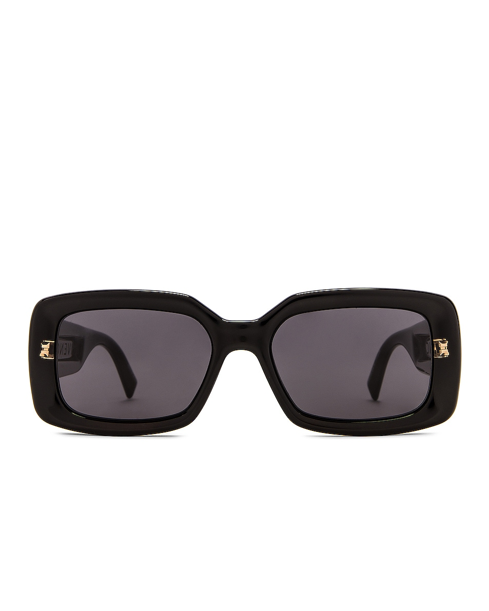 Image 1 of Givenchy Rectangular Sunglasses in Black