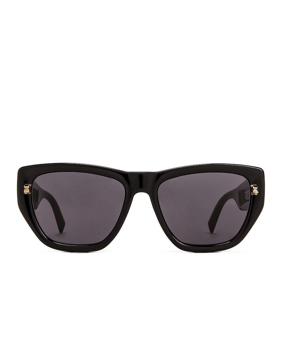 Image 1 of Givenchy Acetate Sunglasses in Black
