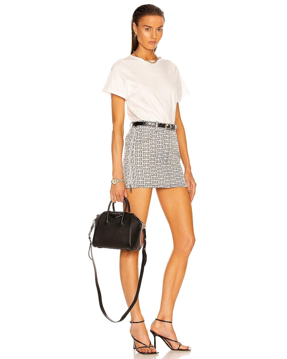 Image 2 of Givenchy Mini Sugar Antigona in Black